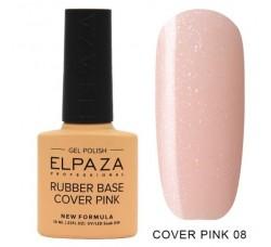 База каучуковая Elpaza камуфлирующая сверхстойкая Cover Pink 08