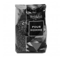 Italwax Воск Natura POUR HOMME (мужской) горячий пленочный в гранулах (1 кг)