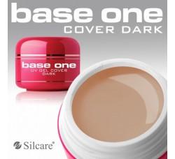 Гель для наращивания Silcare Base One Cover Dark 15гр