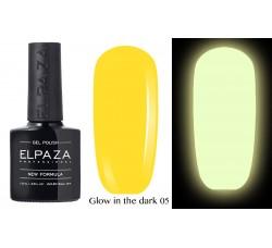 Гель-лак Elpaza Glow Neon Collection неоновая серия светится в темноте при ультрофиолете 05