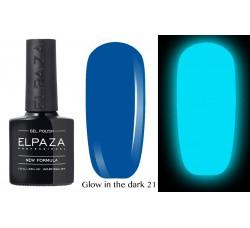Гель-лак Elpaza Glow Neon Collection неоновая серия светится в темноте при ультрофиолете 21