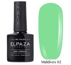 Гель-лак Elpaza Neon Collection неоновая серия 10мл MALDIVES 02 неоновые