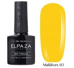 Гель-лак Elpaza Neon Collection неоновая серия 10мл MALDIVES 03 неоновые