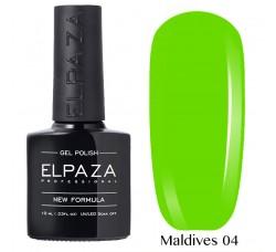 Гель-лак Elpaza Neon Collection неоновая серия 10мл MALDIVES 04 неоновые