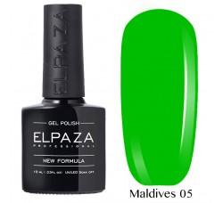 Гель-лак Elpaza Neon Collection неоновые серия 10мл MALDIVES 05