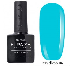 Гель-лак Elpaza Neon Collection неоновые серия 10мл MALDIVES 06