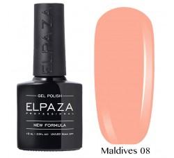 Гель-лак Elpaza Neon Collection неоновые серия 10мл MALDIVES 08