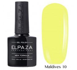 Гель-лак Elpaza Neon Collection неоновые серия 10мл MALDIVES 10