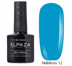 Гель-лак Elpaza Neon Collection неоновые серия 10мл MALDIVES 12