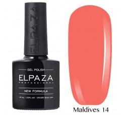 Гель-лак Elpaza Neon Collection неоновые серия MALDIVES 14