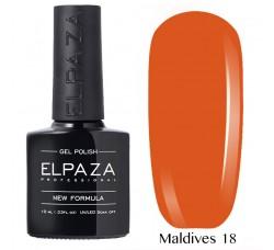 Гель-лак Elpaza Neon Collection неоновые серия MALDIVES 18
