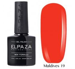 Гель-лак Elpaza Neon Collection неоновые серия MALDIVES 19