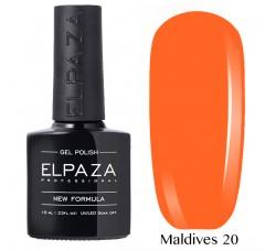 Гель-лак Elpaza Neon Collection неоновые серия MALDIVES 20