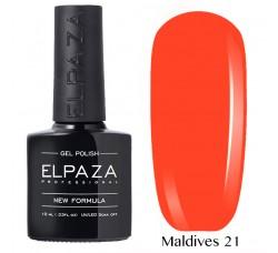 Гель-лак Elpaza Neon Collection неоновые серия MALDIVES 21