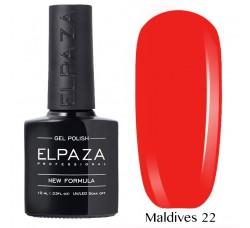 Гель-лак Elpaza Neon Collection неоновые серия MALDIVES 22