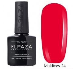 Гель-лак Elpaza Neon Collection неоновые серия MALDIVES 24