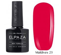 Гель-лак Elpaza Neon Collection неоновые серия MALDIVES 25