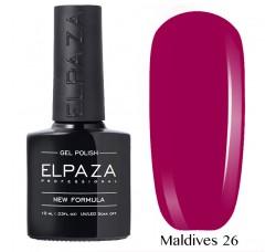 Гель-лак Elpaza Neon Collection неоновые серия MALDIVES 26