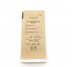 Крафт пакеты для паровой и воздушной стерилизации, 100х200 мм, 100 шт Медтест