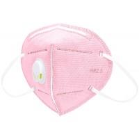 Маски 6-ти слойные с фильтром мелтблаун розовые маска для лица