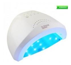 Лампа для гель лака и геля гибридная UV/LED Sun1 48 Вт с ЖК дисплеем белая SunOne white