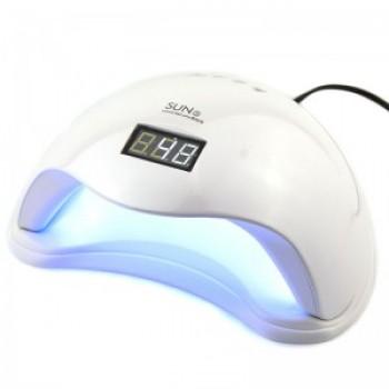 Лампа гибридная для гель лака и геля UV/LED Sun5 48 Вт с ЖК дисплеем