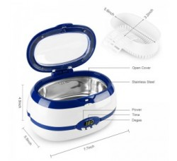 Ультразвуковая мойка ванна-стерилизатор Ultrasonic Cleaner VGT-2000  600 мл