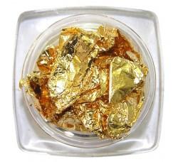 Сусальная фольга (поталь) золото в баночке