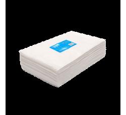 Одноразовые салфетки белые спанлейс 30x40 упаковка 100 шт