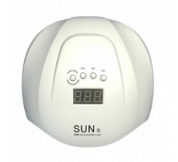 Лампа гибридная для гель лака и геля UV/LED SUNX 54 Вт с ЖК дисплеем белая