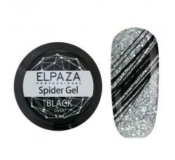 Гель-краска Паутинка Elpaza - черная