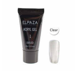 Elpaza UV/LED acryl gel 30ml professional 01