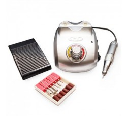 Фрезер Nail Master Drill Pro для маникюрно-педикюрных процедур 35000 оборотов - 65 Вт ZS-603 SILVER