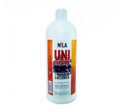 Жидкость Nila для снятия ШЕЛЛАКА и гель-лака uni cleaner 1000 мл (1 литр) Ежевика