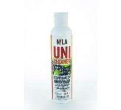 Жидкость Nila для снятия ШЕЛЛАКА и гель-лака uni cleaner 250 мл Виноград