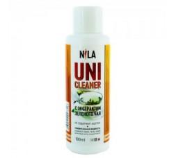 Жидкость Nila для снятия ШЕЛЛАКА и гель-лака  100 мл Зеленый чай - БЕЗ АЦЕТОНА
