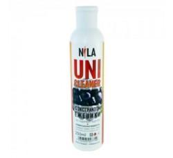 Жидкость Nila для снятия ШЕЛЛАКА и гель-лака uni cleaner 250 мл Ежевика