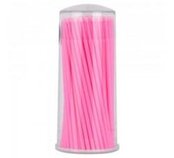Микробраши для снятия накладных ресниц розовые