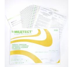 Индикаторы химические для контроля воздушной стерилизации 4 класс ИВКС Медтест 180/60, 1000 шт. с журналом