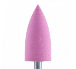 Фреза для полировки силиконовая карбидная розовая средняя зернистость