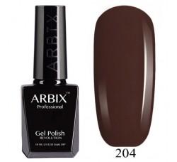 ARBIX Гель-лак сверхстойкий Американский Брауни 204