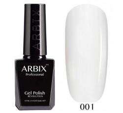ARBIX Гель-лак сверхстойкий Белый 001