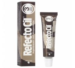 RefectoCil Natural Brown №3 — Краска для окрашивания бровей и ресниц (натурально-коричневый) 15 мл