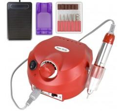 Фрезер Nail Drill Master  Pro для  маникюрно-педикюрных процедур 35000 оборотов - 65 Вт Красный